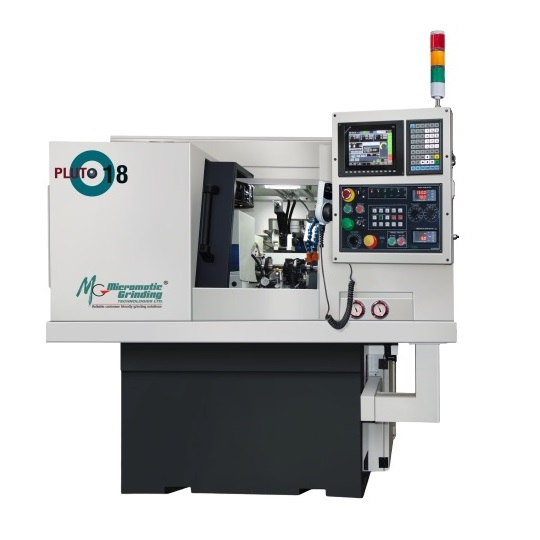 The PLUTO-18 CNC grinder available from stock and for demonstration at Master Abrasives facility in Daventry