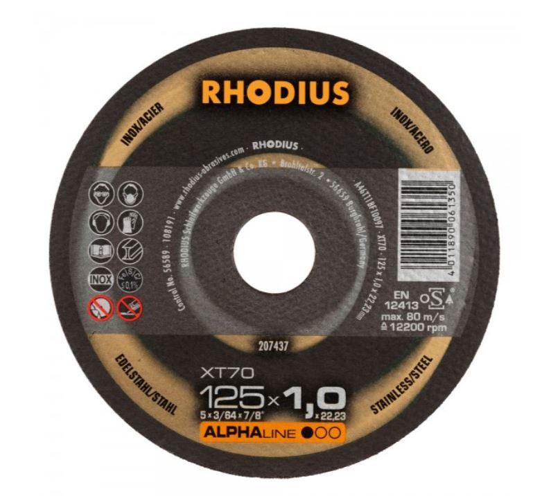 Rhodius Alphaline Range