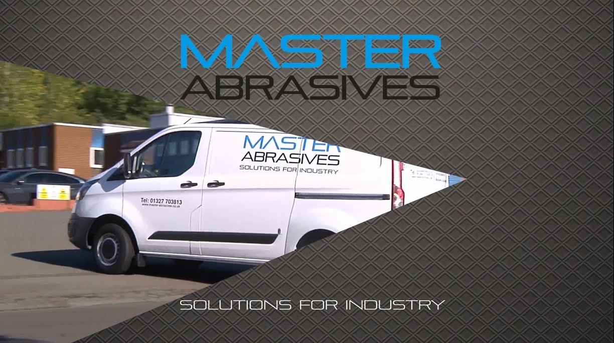 The opening scene of Master Abrasives' corporate video