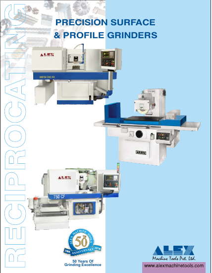 Alex Machine Tools Precision Surface & Profile Grinders
