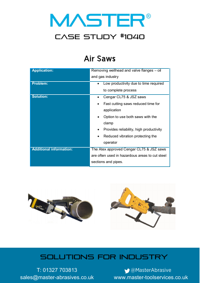 Master Case Study 1040 (Air Saw)